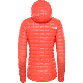 The North Face Eco ThermoBall Hoodie Jacke Damen radiant orange